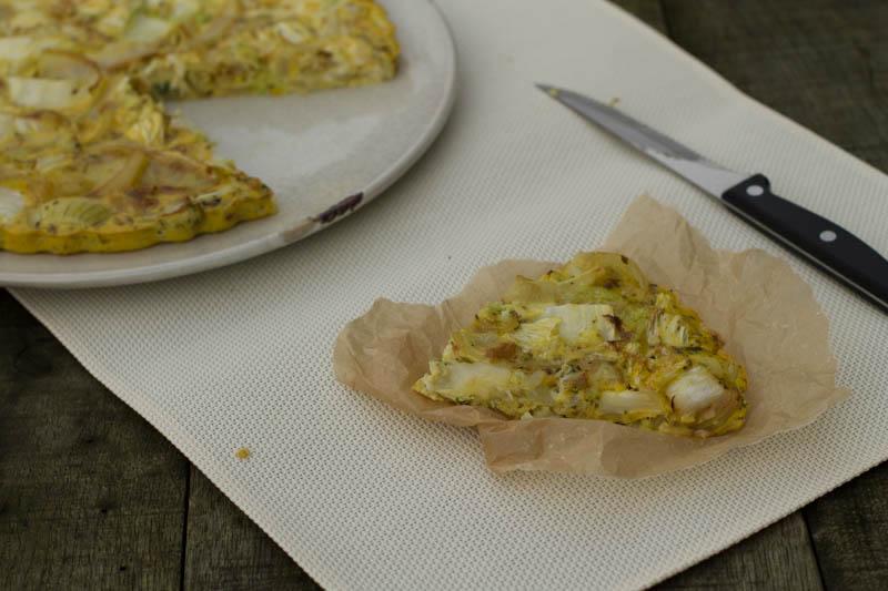 recept spinazie fritatta zuivelvrij