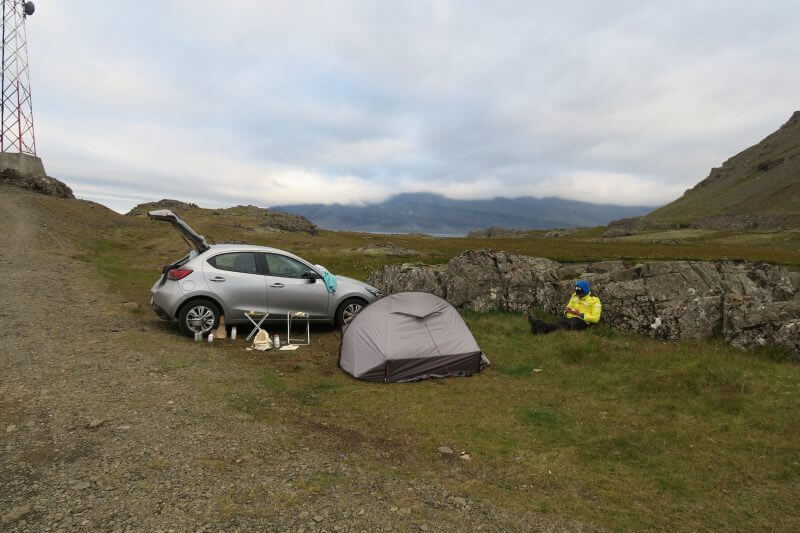 tent bikepacking