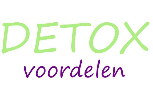 detox voordelen