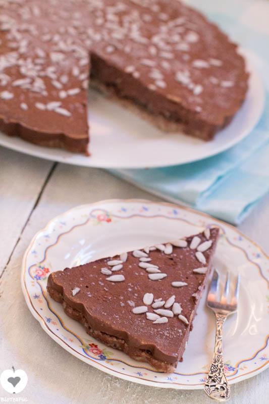 chocoladetaart ijstaart