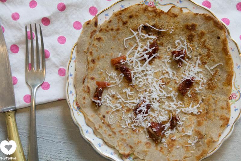 boeweit zongedroogde tomaat pannenkoek-2