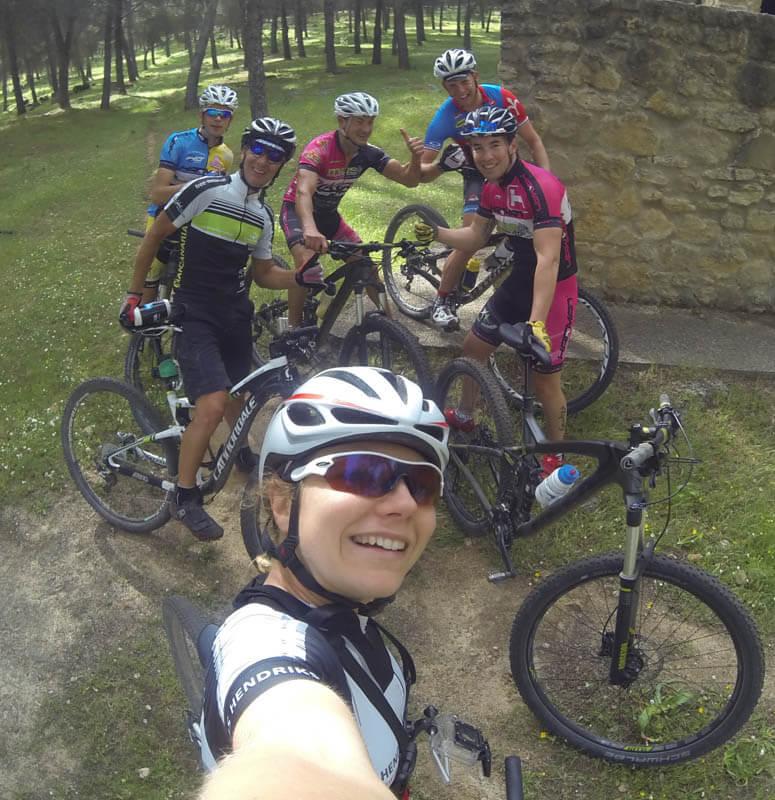 mtb ride locals sanne van paassen